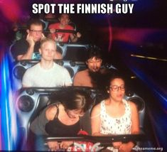 Finnish guy in Disnleyland Gifts For Campers, Camping Gifts, Finnish Memes, Finnish Language, When You Can, Falling Down, Best Funny Pictures, Disneyland, Road Trip