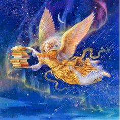 The Art of Kinuko Y. Craft: BOOK ANGEL