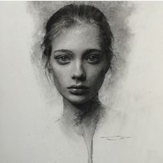 Charcoal work, Casey Baugh