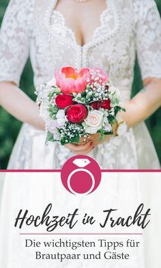 Heiraten in Tracht kurz und bündig: die wichtigsten Dinge, die du beachten musst, wenn du in Tracht heiraten möchtest. Trends, Newlyweds, Getting Married, Tips, Beauty Trends