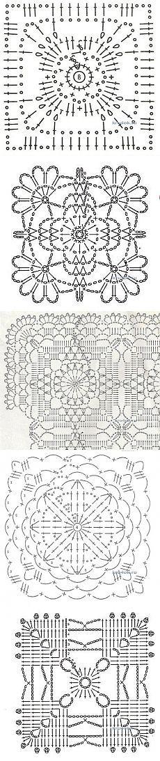 Crochet squares.