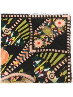 Shop Givenchy 'Crazy Cleopatra' printed scarf.