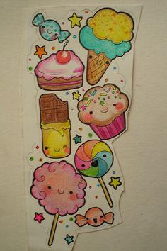 cute candy tattoo