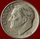 1952-D Roosevelt 90% Silver Dime Ships Free. $2 off 5+