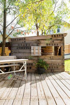 Cubby House Decking