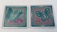 Groovi design coasters created by Julie Wheatman