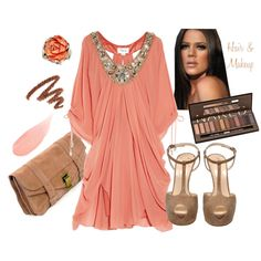 Would be a gorgeous maternity dressy look or just a feminine look to camouflage some trouble areas.