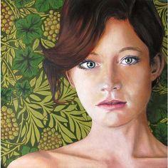 Portrait with Wallpaper #huntersalley