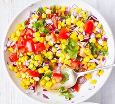 Throw together this simple, no-cook salad in 15 minutes flat for a colourful, speedy side dish