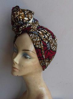 African Print head wrap / ankara headwrap /african print/ african styles / scarf/ wax print