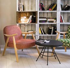 """The Basic Armchair is described byLagranja Designas a""""gentle interpretation of the Danish archetype"""", with a """"Mediterranean touch"""" seen in its upward-flicking armrests."""