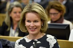 Queen Mathilde visited the seminar 'European Union support to microfinance and social entrepreneurship: investing in job creation' and the inauguration of the First European Microfinance Day on October 19, 2015, in Brussels.
