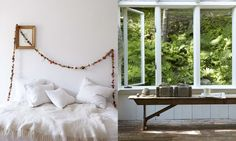 White, green, clean, calm...    concept & styling by Shane Powers - Photo by Gentl & Hyers