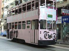 Juicy Double Decker Bus in London England