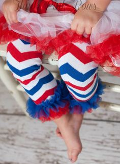 Baby Leg warmers, leg warmers, ruffled baby leg warmers, girl legwarmers,patriotic leg warmers, chevron leg warmers,  children leg warmers. on Etsy, $4.95