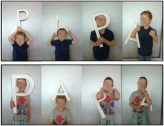 Fête des parents portraits et cadres chez Stasia