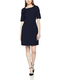 20, dark blue 5959, s.Oliver Women's 11702826295 Dress NEW