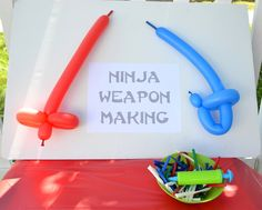 Excellent ideas, plus an added bonus link to Craft Interrupted with a ton of great ideas for a LEGO Ninjago Party