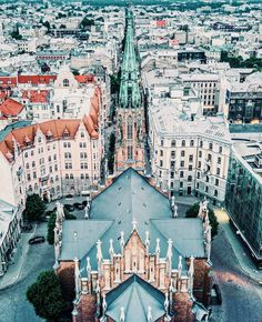 """2,538 Likes, 23 Comments - Live Riga (@riga.live) on Instagram: """"Perspective fusion by @drone.cinematography."""""""