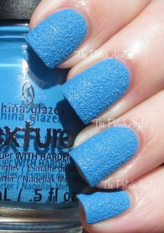 The PolishAholic: China Glaze Texture Collection Swatches - Of Coarse!