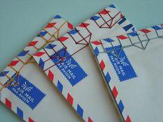 Airmail Envelope Books