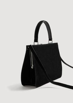 4d6383cfc9d6f Leather cross body bag - Woman | Mango | Pinterest | Cross body bags, Cross  body and Women bags