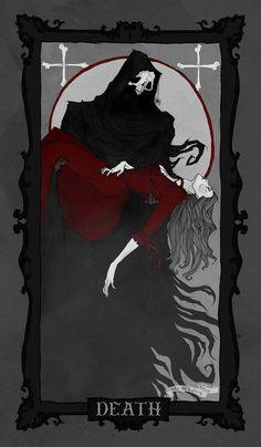 Tarot - Death by AbigailLarson.deviantart.com on @DeviantArt