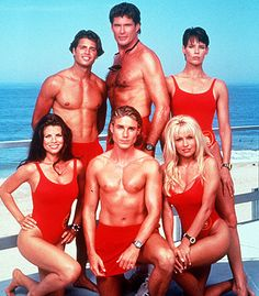 "Have to admit it, loved the beach so much that I had to watch ""Baywatch."" The Hoff was hot back then!"