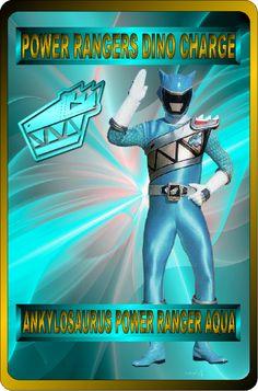 Ankylosaurus Power Ranger Aqua by rangeranime on @DeviantArt