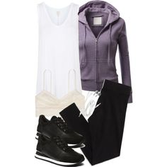Allison Inspired Affordable Exercise Outfit by veterization on Polyvore featuring J.TOMSON, Topshop, American Eagle Outfitters and Steve Madden Teen Wolf Outfits, Weekend Wear, White Tops, Dress Outfits, Dresses, Outfit Of The Day, Long Sleeve Tops, American Eagle Outfitters, Topshop