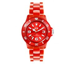 Ice Watch Sd Rd S P 12 Montre Unisexe Quartz Analogique Rouge Small