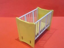 Vintage Dolls House Triang Spot On Cot