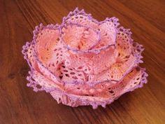 Crochet Flower.bello con schema.