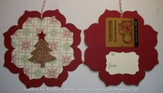 Ornament Gift Card Holder by Muffin's Mama - Cards and Paper Crafts at Splitcoaststampers