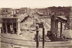 Foro Romano (1882) | Roma Ieri Oggi