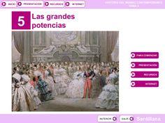 Tema 5: Las grandes potencias by José Antonio Arjona Muñoz via slideshare