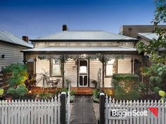46 Park Grove, Richmond, Vic 3121 Victorian Terrace, Victorian House, Cute Cottage, Cottage Style, Grove Park, Character Home, Cottage Exterior, Exterior Makeover, Dream Houses
