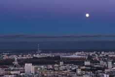 Moon over Warsaw