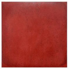 Symbals 13 X Porcelain Fabric Look Tile In Red