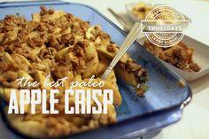 Tutorial Thursday: All Things Apple and BEST Apple Crisp Recipe #paleo #paleodiet #paleofood #paleorecipes #paleocooking