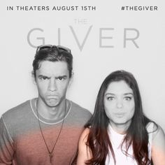 The Givers' stars, Brenton Thwait and Odeya Rush, lookin' fiine at The Bosco booth.