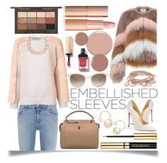 """Embellished  Sleeves"" by ittie-kittie ❤ liked on Polyvore featuring Givenchy, STELLA McCARTNEY, Urbancode, Fendi, Christian Louboutin, Witchery, Chopard, DIANA BROUSSARD, Marjana von Berlepsch and Winter"