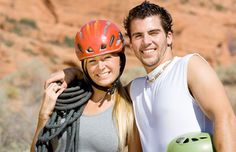 1. Go Rock Climbing or Rappelling Together