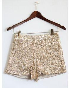 Adult High Waist Metallic Dance Shorts | Pinterest | Style, Shorts ...