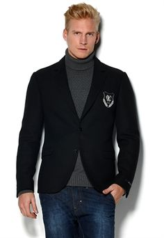 Crested blazer