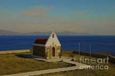 This is a small church on the Island of Syros in Greece.