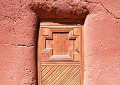 Doorway at El Rancho de las Golondrinas, photo Steve Collins