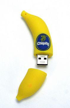 Custom made USB stick banaan bedrukken Usb Drive, Usb Flash Drive, Creative Inventions, Airpod Case, Usb Hub, Technology Gadgets, Corporate Gifts, Cool Gadgets, Bananas