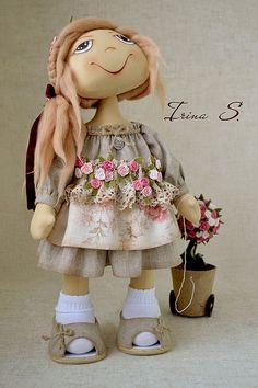 Коллекционные куклы ручной работы. Ярмарка Мастеров - ручная работа Мишель для Оли. Handmade.