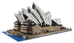 LEGO® Unveils 3,000 Brick Sydney Opera House